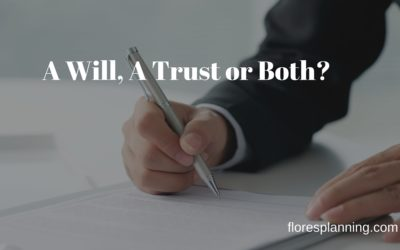 Basic Estate Planning: A Trust, A Will, or Both? | AIER