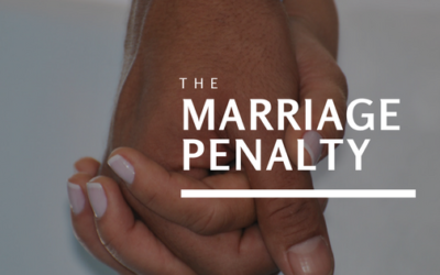 Financial Plan: Paying the Marriage Tax Penalty